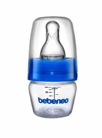 بطری قنداق خوری سر باریک بدون دسته  60 میلBEBE NEO