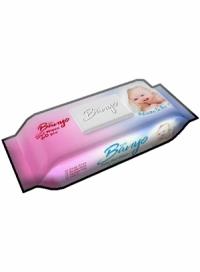 دستمال مرطوب کودک 60 برگی بانیو BANYO
