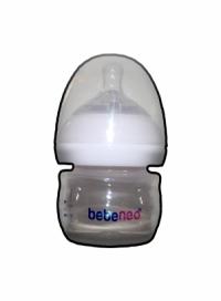 بطری شیر خوری دهانه گشاد 60 میل BEBE NEO