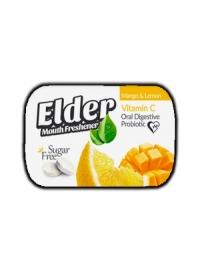 قرص خشبوکننده دهان پروبیوتیک الدر mango&lemon