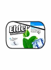 قرص خشبوکننده دهان پروبیوتیک الدر mint