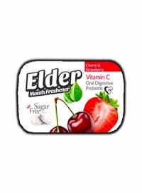 قرص خشبوکننده دهان پروبیوتیک الدر cherry&strawberry