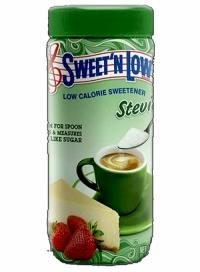 پودر شیرین کننده استویا شیشه 80 گرمی SWEET N LOW